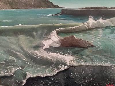 Portofino Beach Painting - Theory Of Vacuum by Alberto Perini Sea