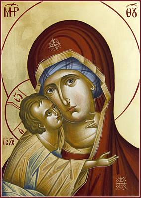 Painting - Theotokos by Julia Bridget Hayes