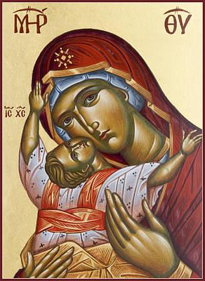 Painting - Theotokos Kardiotissa I by Julia Bridget Hayes