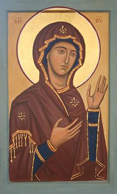 Theotokos Art Print by Phillip Schwartz