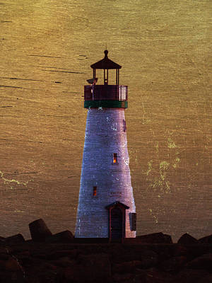 Photograph - There Is A Lighthouse by B Wayne Mullins