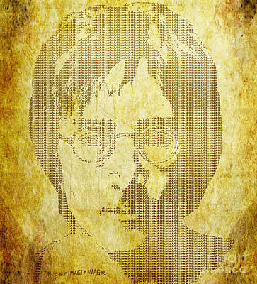 Art Print featuring the digital art There Is A Magi In Imagine by Laura Brightwood