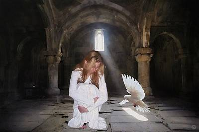 Consolation Digital Art - There Is Always Hope by Gun Legler
