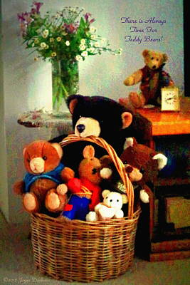 Photograph - There Is Always Time For Teddy Bears by Joyce Dickens
