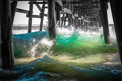There Is Hope Under The Pier Art Print by Scott Campbell