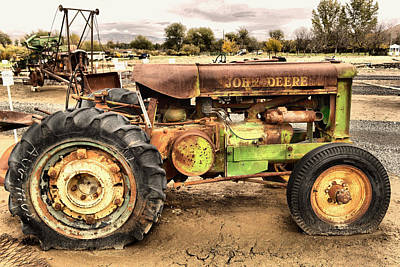 Photograph - There Is Nothing Like An Old John Deer by Jeff Swan