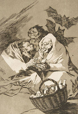 Relief - There Is Plenty To Suck by Francisco Goya