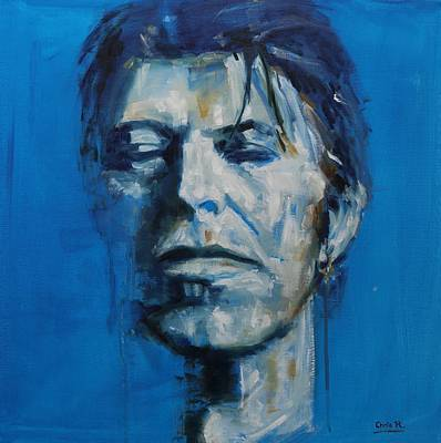 Painting - There S A Starman Waiting In The Sky by Christel Roelandt