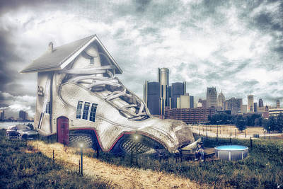 Digital Art - There Was An Og Who Stayed In Some J's by Nicholas Grunas