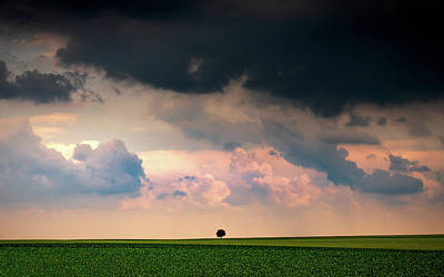 Photograph - There's A Storm Coming by Framing Places