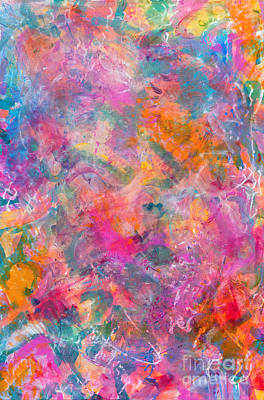 Painting - There's Magic In The Ether by Expressionistart studio Priscilla Batzell
