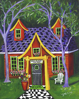 No Place Like Home Painting - There's No Place Like Home by Debbie McCulley