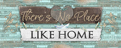 Digital Art - There's No Place Like Home by Mo T