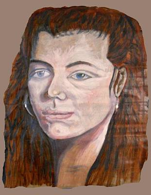 Painting - Theresa From Australia by Joanna Whitney