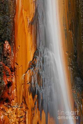 Thermal Waterfall Art Print by Gaspar Avila
