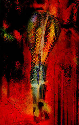 Digital Art - Thermonuclear Hosiery by Greg Sharpe