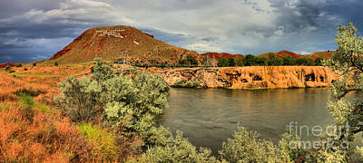 Photograph - Thermopolis Wyoming by Adam Jewell