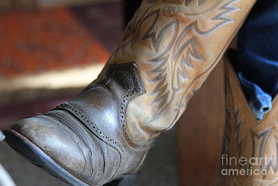 Photograph - These Boots by Ann E Robson