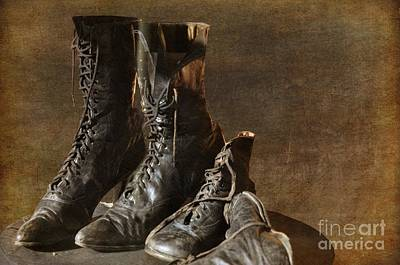 Photograph - These Boots Are Made For Walking by Liane Wright