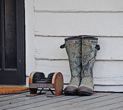 Photograph - These Boots by Linda Brown