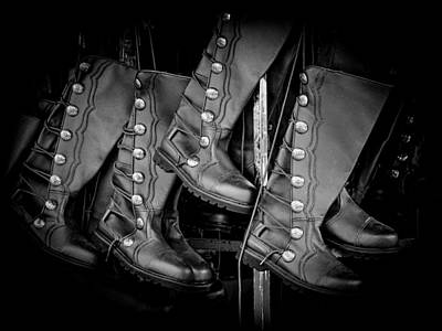 Photograph - These Boots Were Made For Walking by Robin Zygelman
