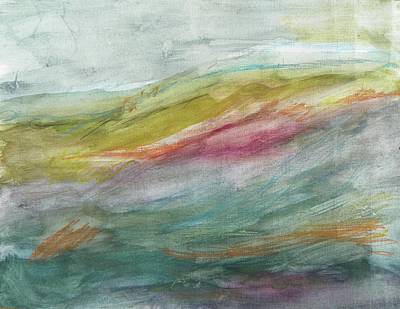 Painting - These Lonely Hills by Judith Redman
