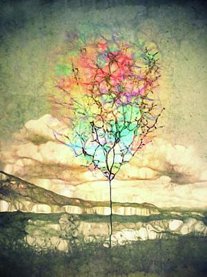 Digital Art - These Watercolour Dreams by Tara Turner