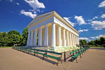 Photograph - Theseus Temple In Volksgarten Park Of Vienna by Brch Photography
