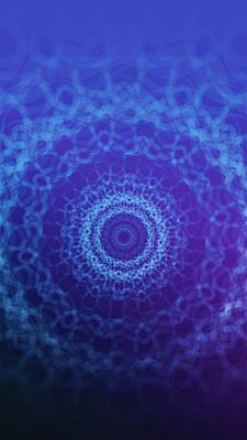 Prana Wall Art - Digital Art - Theta Brainwaves by Eric Thompson