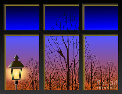 Digital Art - The Window II by The Mariabelones
