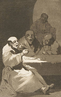Relief - They Are Hot by Francisco Goya