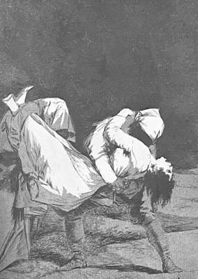 Painting - They Carried Her Off 1799 by Goya Francisco