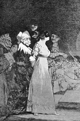 Painting - They Say Yes And Give Their Hand To The First Comer 1799 by Goya Francisco