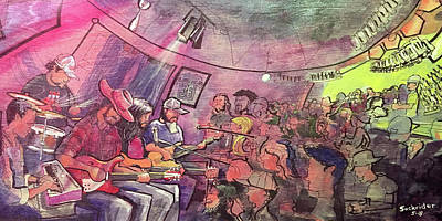 Painting - Thin Air At The Woodcellar by David Sockrider