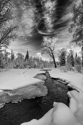 Photograph - Thin Ice by Ted Raynor