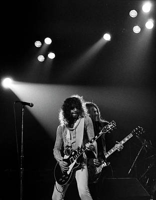 Photograph - Thin Lizzy by Sue Arber