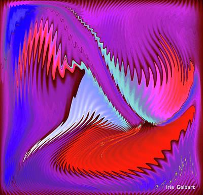 Digital Art - Thingamabob 2 by Iris Gelbart