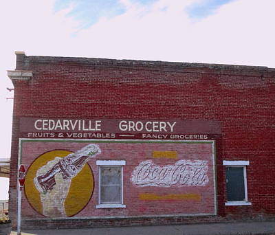Photograph - Things Go Better In Cedarville by Dreamweaver Gallery