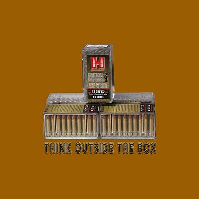 Manipulation Photograph - Think Outside The Box by EricaMaxine  Price