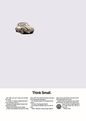 Beetle Photograph - Think Small by Mark Rogan