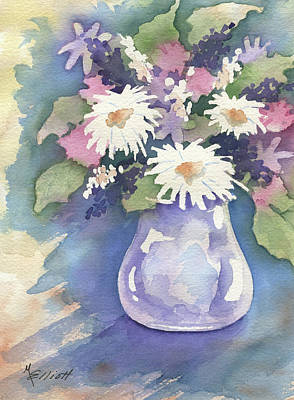 Floral Bouquet Painting - Think Spring by Marsha Elliott