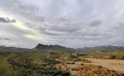 Apache Creek Photograph - Think West by Gordon Beck
