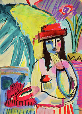 Painting - Thinking In Colors by Amara Dacer