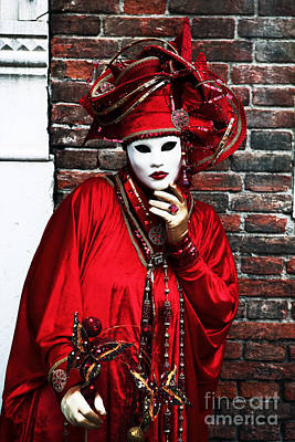 Carnevale Photograph - Thinking by John Rizzuto