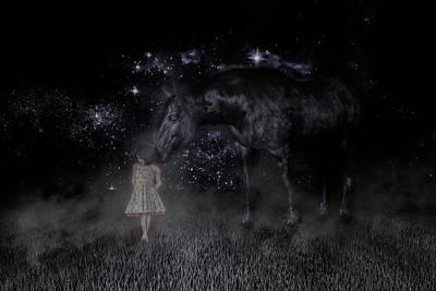 Animals Digital Art - Thinking of You by Betsy Knapp