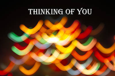 Photograph - Thinking Of You Greeting Card by Glenn Gordon
