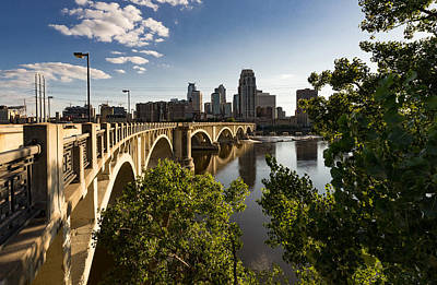 Photograph - Third Avenue Bridge by Mike Evangelist