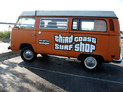 Surfers Digital Art - Third Coast Surf Shop Mobile by Christopher Purcell