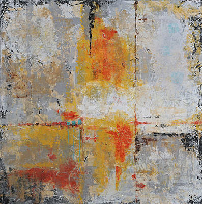 Painting - Third Dimension by Jim Benest