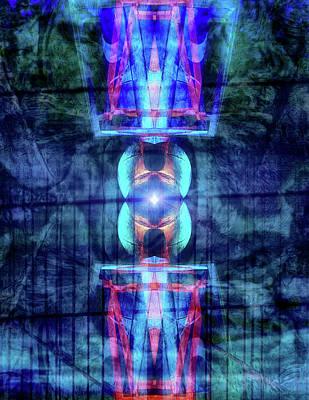Digital Art - Third Eye by Wim Lanclus